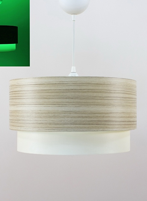 Crea Lighting Fosforix  Sarkıt 40 cm/Wood/Borame Renkli